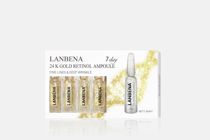 Lanbena 24K Gold Retinol Ampoule serum