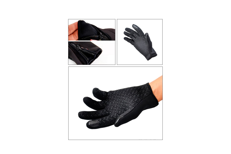 Vindtette unisex touch-hansker
