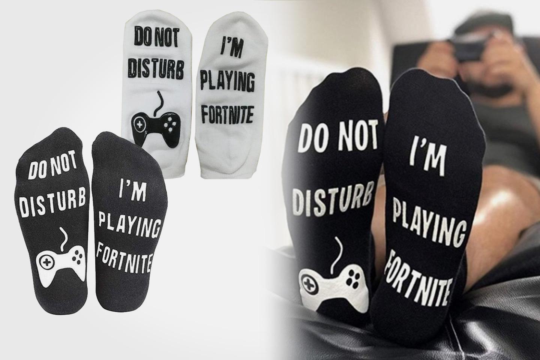 Ikke forstyrr Fortnite-sokker (1 av 3)