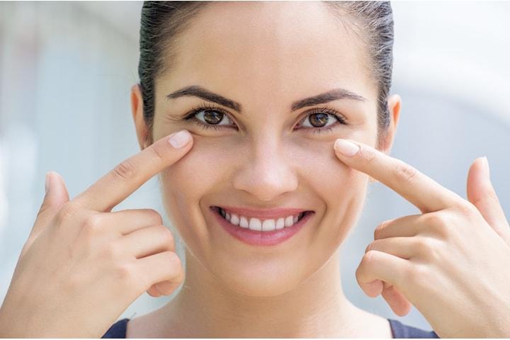 Behandla mörka ringar, påsar eller hålighet under ögonen hos F.Imanuell Beautyface