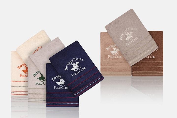 Beverly Hills Polo Club handdukar 2- eller 3-pack