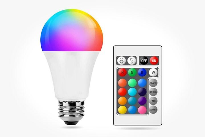 LED-lampe E27 RGB