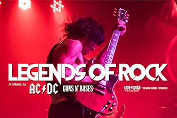 Legends of Rock på trädgår'n torsdagen den 31/10 2019