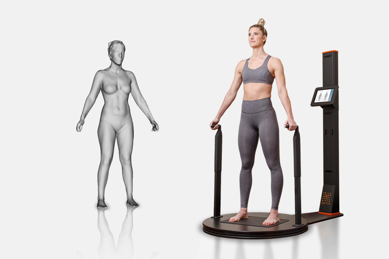 3D-scan kroppen og visualiser dine mål hos Best Shape (1 av 1)