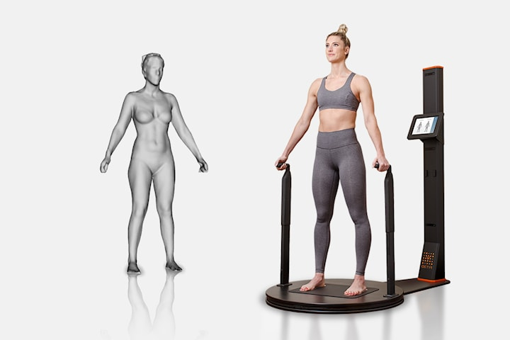 3D-scan kroppen og visualiser dine mål hos Best Shape