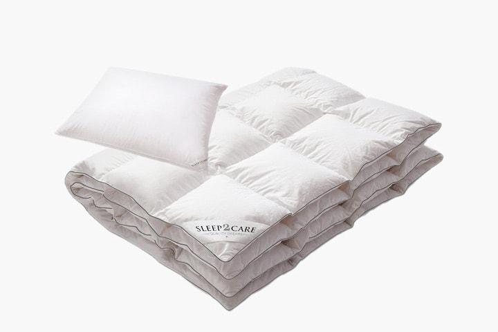 Sleep2Care Moskus täcke och kudde