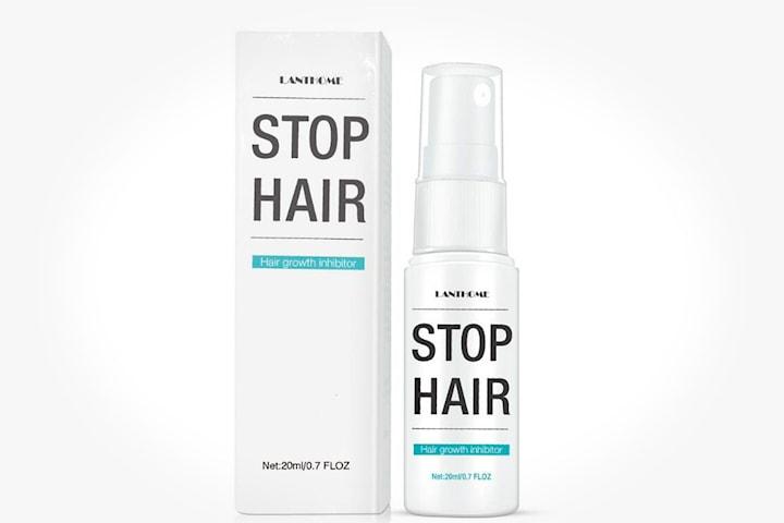 Lanthome spray för minskning av hårväxt