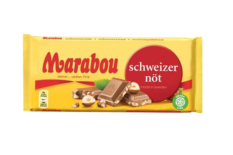10 stk mix sjokoladeplater fra Marabou