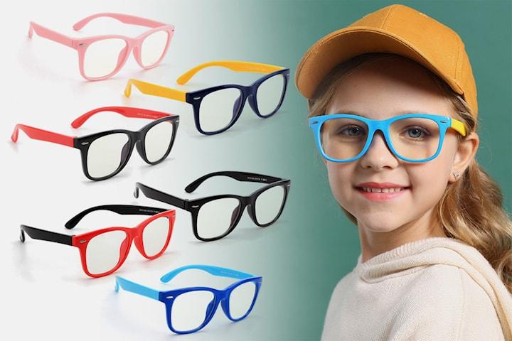Briller til barn som beskytter mot blått lys