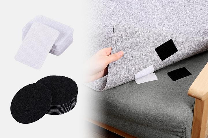 Dobbeltsidig antiskli-beskyttelse til sofa