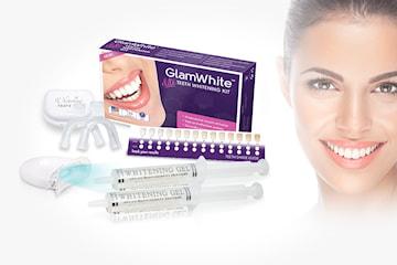 Tandblekning hemma med GlamWhite