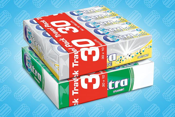 Extra tyggegummi 2 x 30-pack
