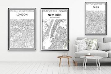 Kunstnerisk bykart