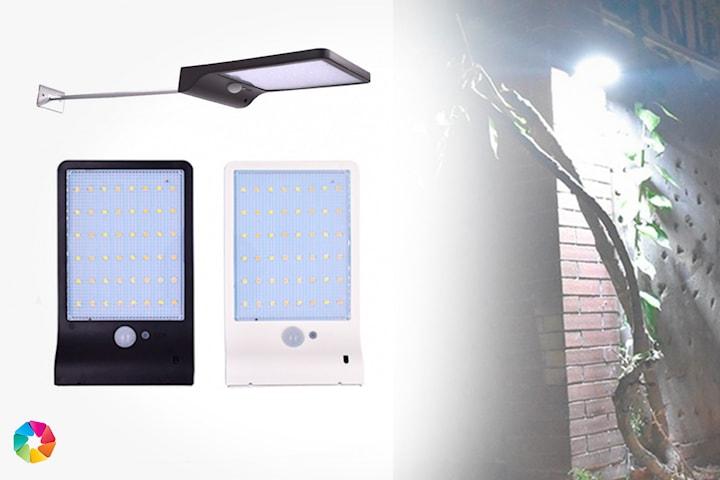 Utomhus solcellslampa med 48 LED
