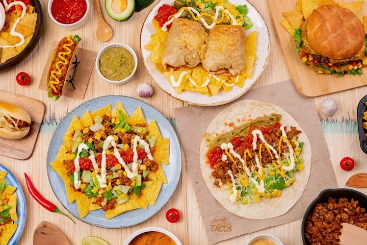 Deilig burrito hos Foodtrucken Markus Tacos