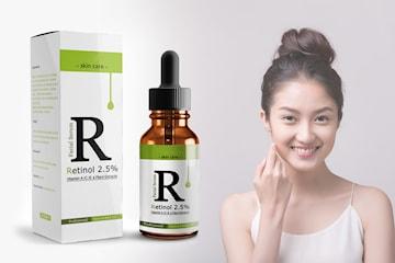 Retinol 2,5% fuktgivande ansiktsolja med Vitamin E