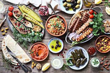 Catering av libanesisk buffé