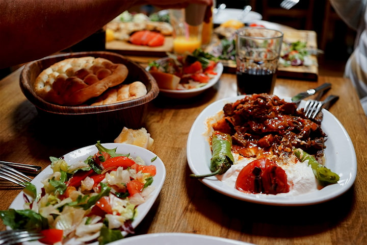Nyt en herlig persisk buffet hos Soofi restaurant