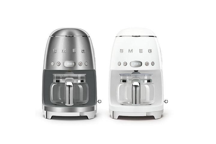 Smeg DCF02 kaffebryggare vit eller silver