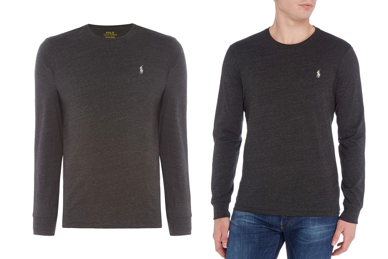 Ralph Lauren långärmad tröja i herrmodell