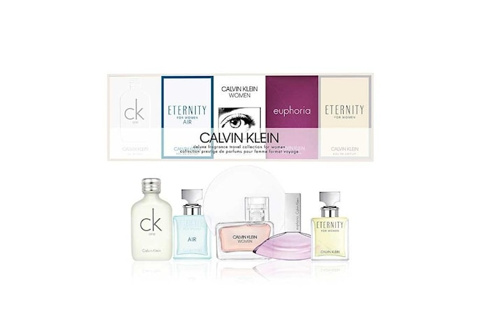 Giftset Calvin Klein Deluxe Travel Collection For Women 5x Edp