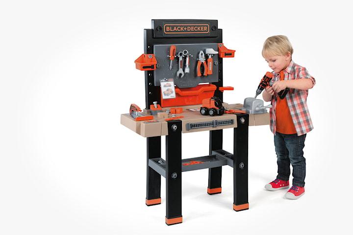 Black & Decker Smoby Super verktygsbänk