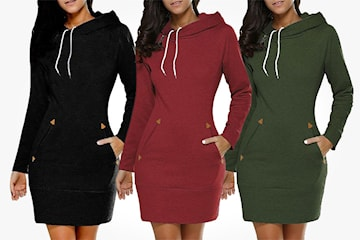Sweatshirt-klänning