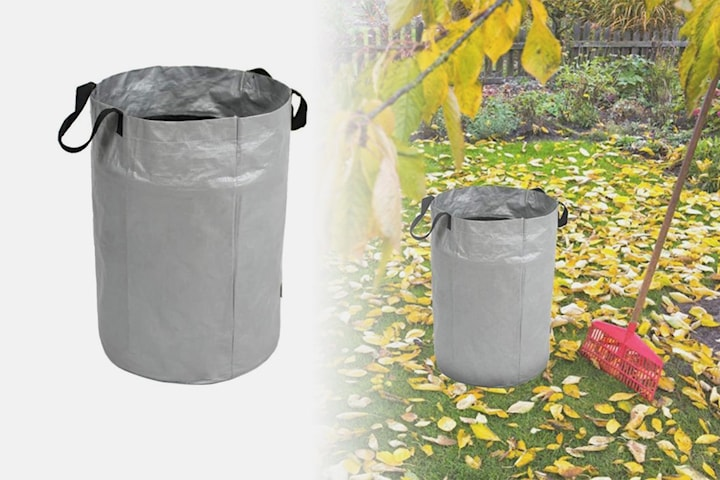 Solid sammenleggbar hagebag 100 liter