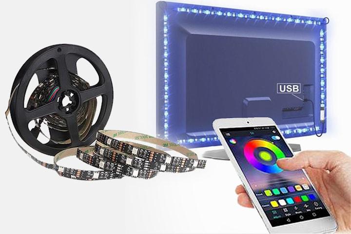 LED-slinga för bakgrundsbelysning till tv