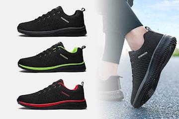Pustende sneakers