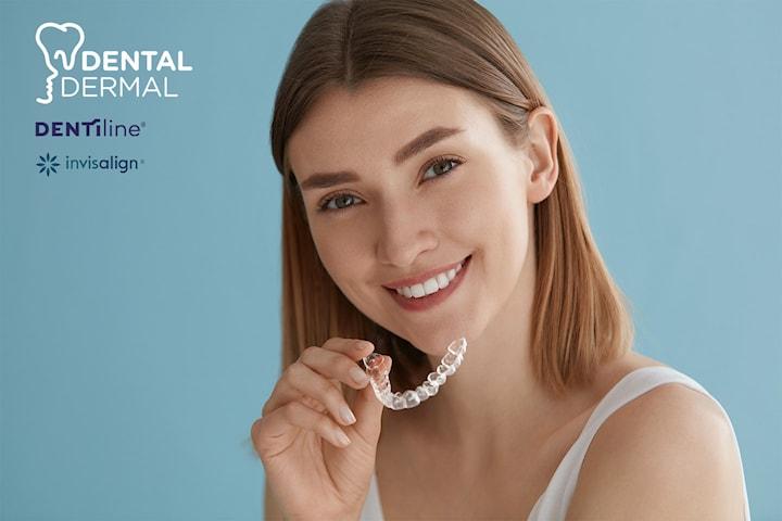 Sommertilbud! Betal bare 2000 kr og få 56% rabatt på usynlig tannregulering! Verdi opp til: 60 000 kr.