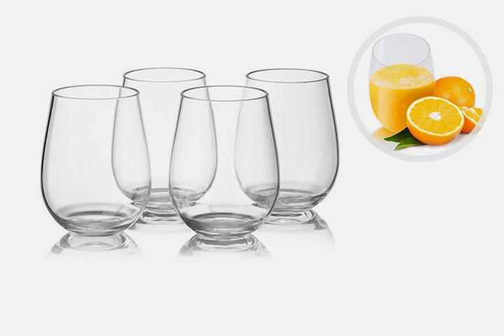 Knussikre glass 4-pack