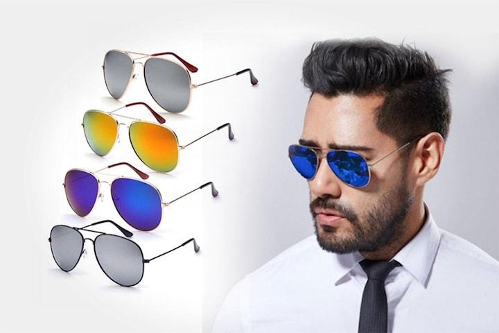 Pilotbriller i klassisk design 1- eller 2-pack