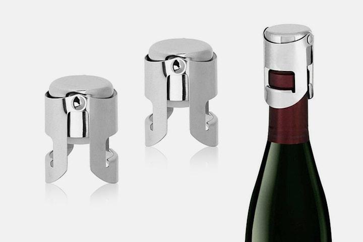 Korker til vin- og champagneflasker 2- eller 4-pack