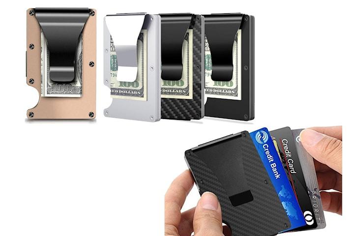 Aluminium kortholder RFID