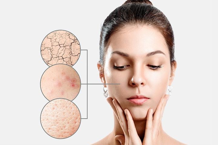 Ansiktsbehandling med Dermapen inkl. jademassage
