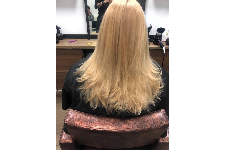 Hårklipp med eller uten striper/farging hos Beauty Hair Studio på Majorstuen