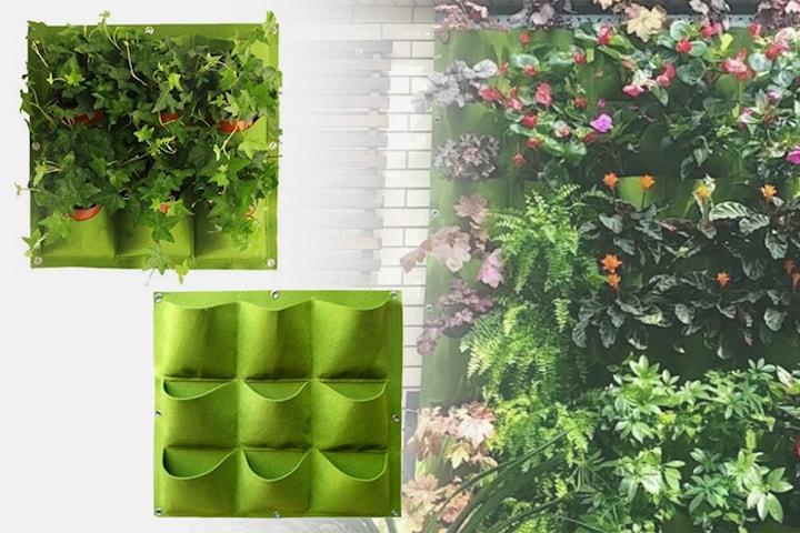 Hängande förvaring för växter