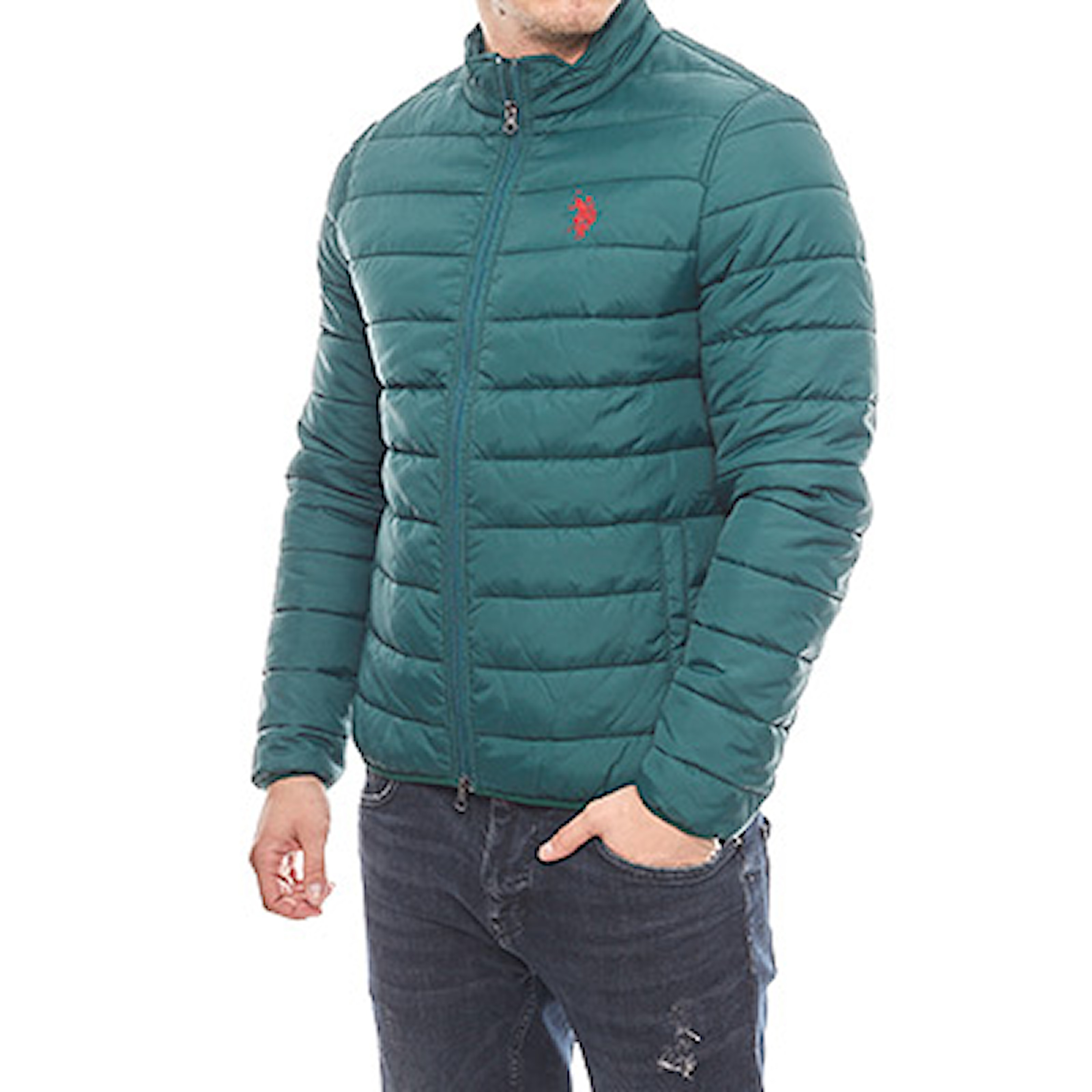 Grön, XL, US Polo Light Jacket, Lättviktsjacka från US Polo, ,