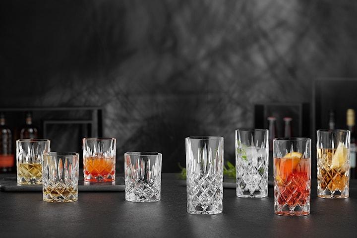 Nachtmann Noblesse whiskey- eller longdrinkglas 4-pack