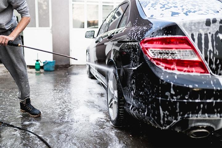 Biltvätt hos Nödinges handbiltvätt