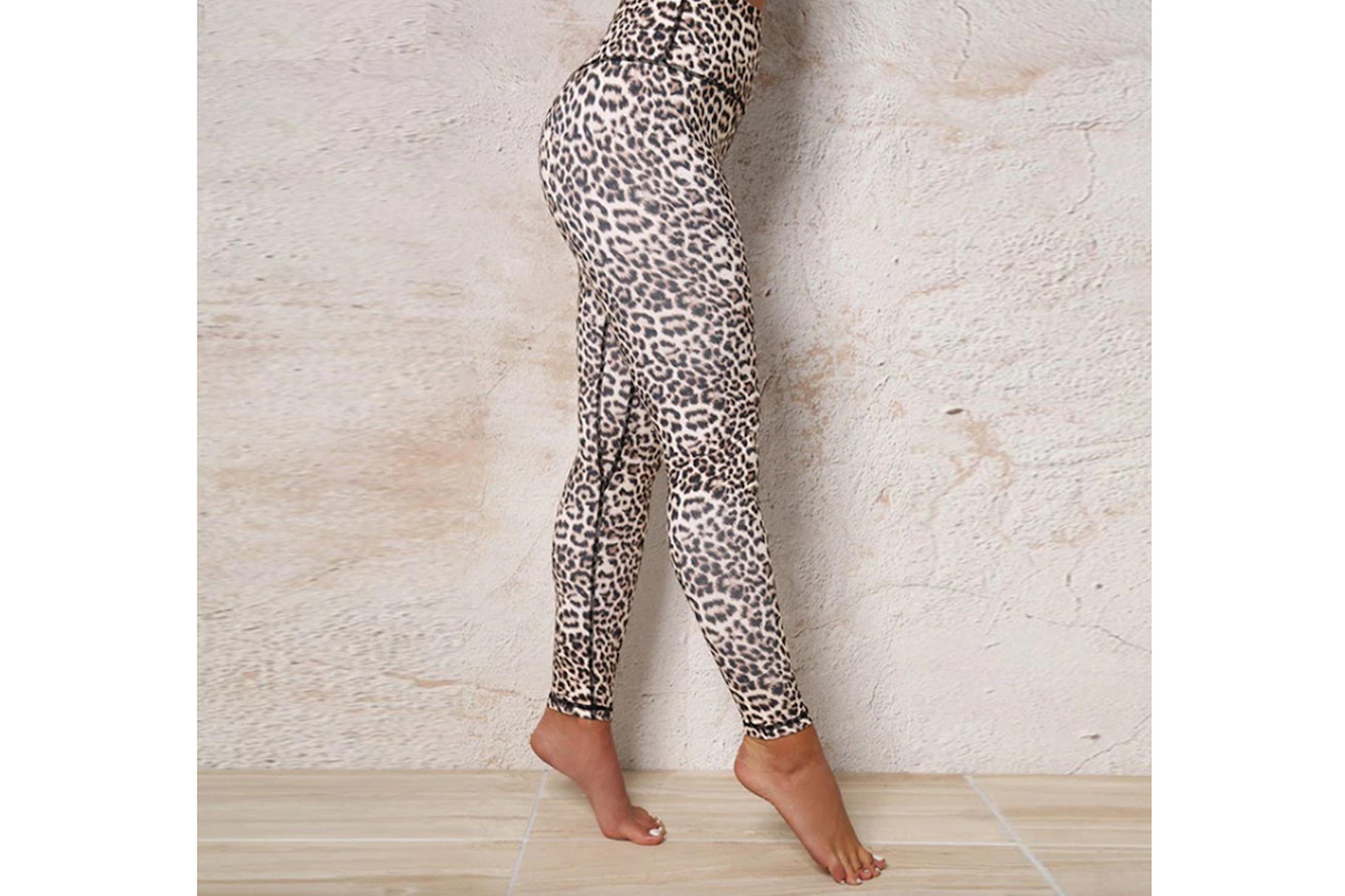Push up leopard leggings