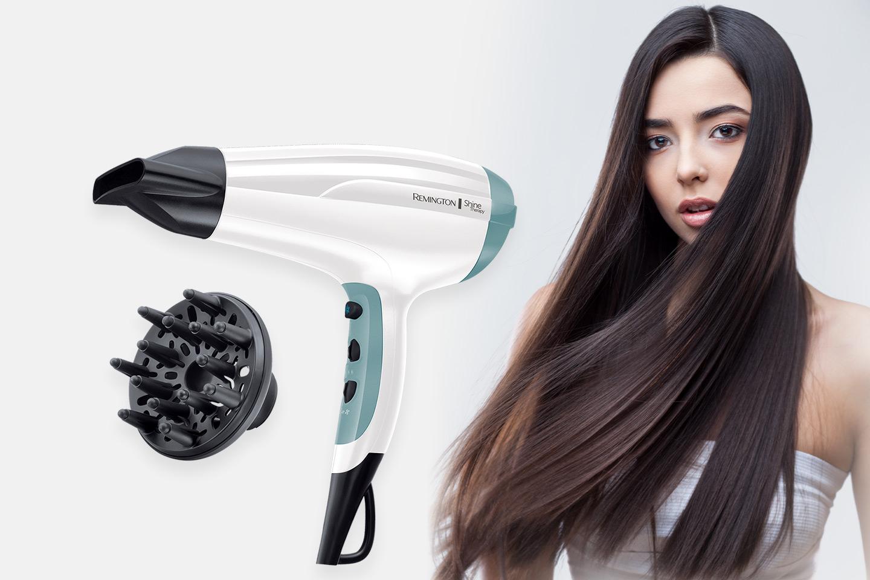Remington Shine Therapy hårfön (1 av 5)