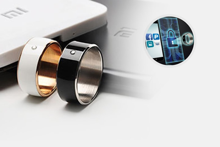 Smartring NFC med Bluetooth