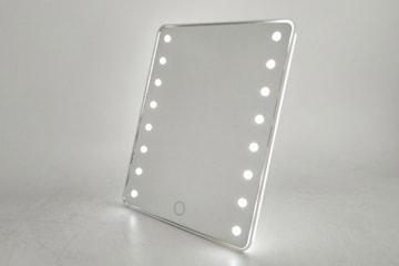 Sminkspegel med inbyggt ljus