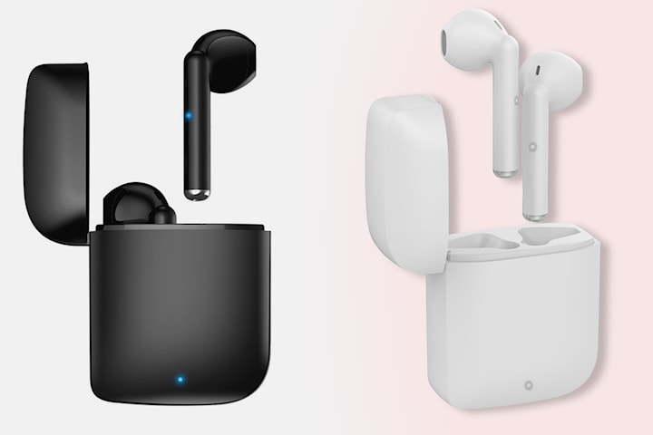 TWS D-12 øretelefoner med nyeste Bluetooth 5.1