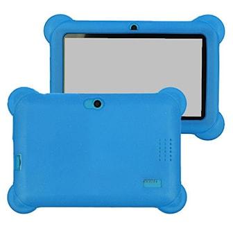 Blå, 7-inch Android Kids Tablet, 7-tums surfplatta för barn, ,