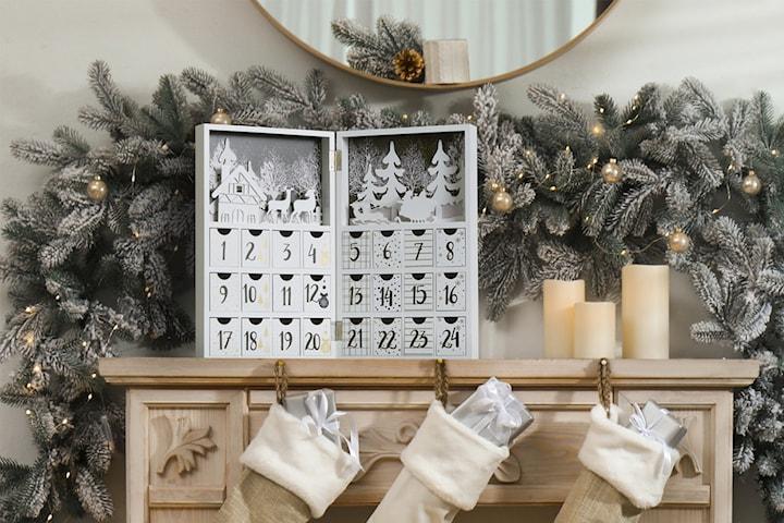 Lifa Living DIY adventskalender i trä