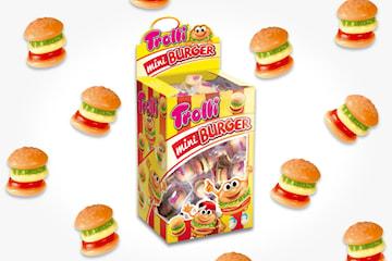 Trolli Miniburger, 80-pack