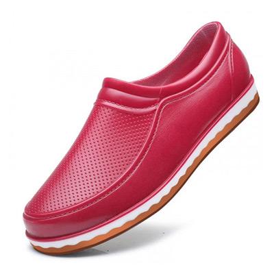 Rød, 37, Short Ankle Rain Boots, Regnsko i ankelhøyde, ,  (1 av 1)